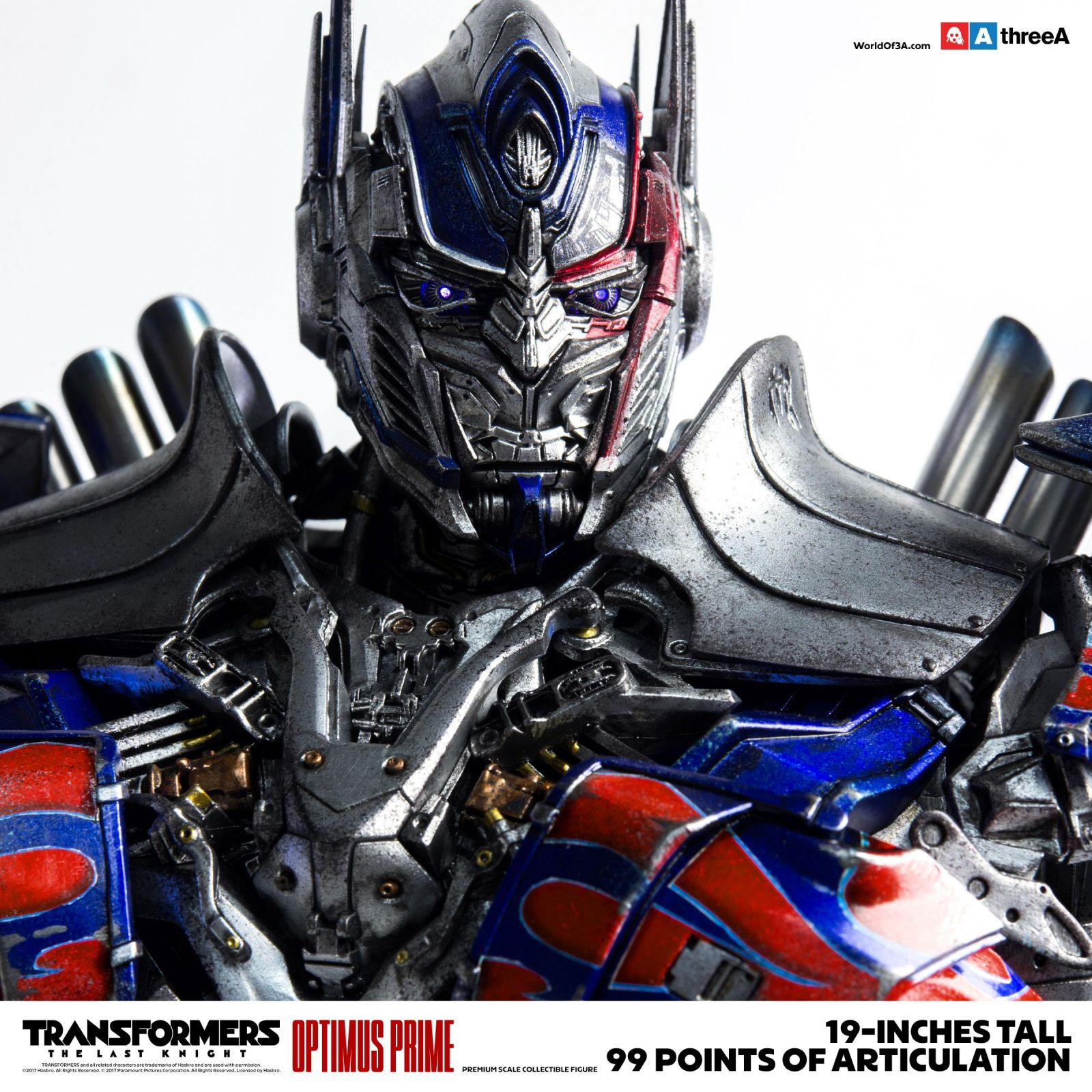transformers the last knight action figure 1 6 optimus prime 48 cm